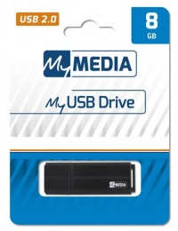 Pendrive, 8GB, USB 2.0, MYMEDIA